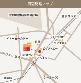 周辺簡略マップ